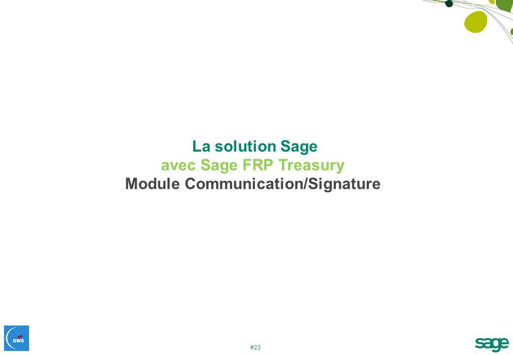 Module Communication/Signature