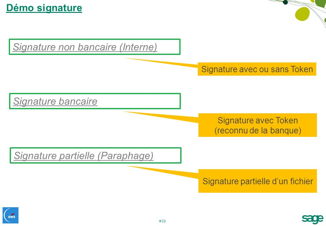 Signature non bancaire (Interne)