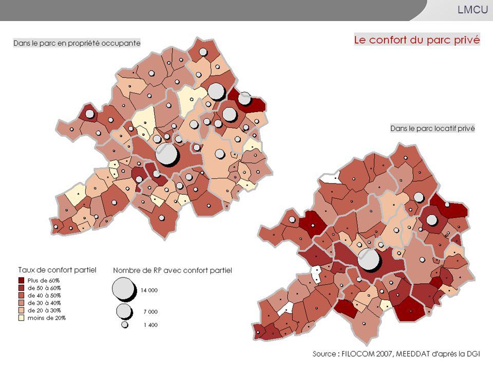 82% : source ENL 2006(ensemble du parc -17,1%HLM)