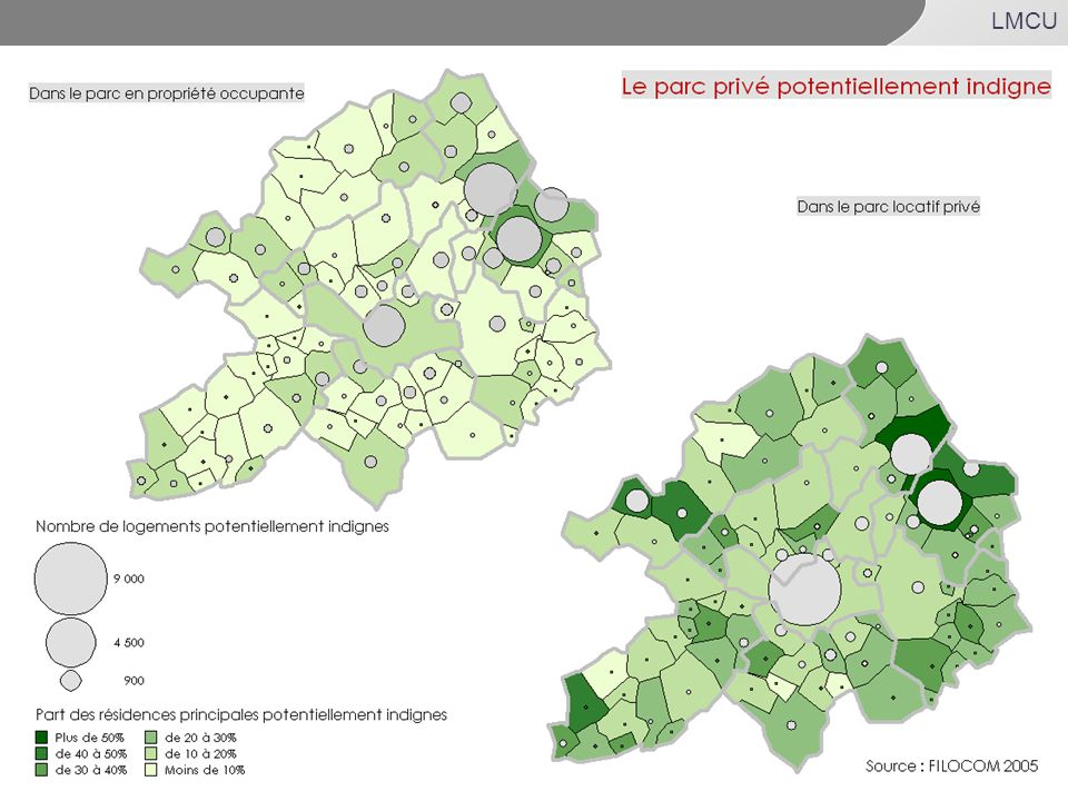 82% : source ENL 2006(ensemble du parc -17,1%HLM)