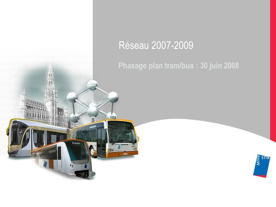 Phasage plan tram/bus : 30 juin 2008