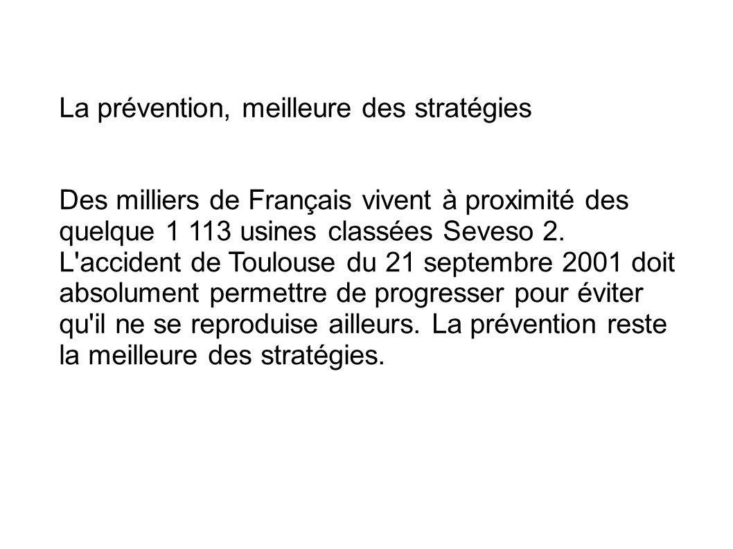La prévention, meilleure des stratégies