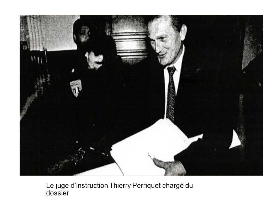 Le juge d'instruction Thierry Perriquet chargé du dossier