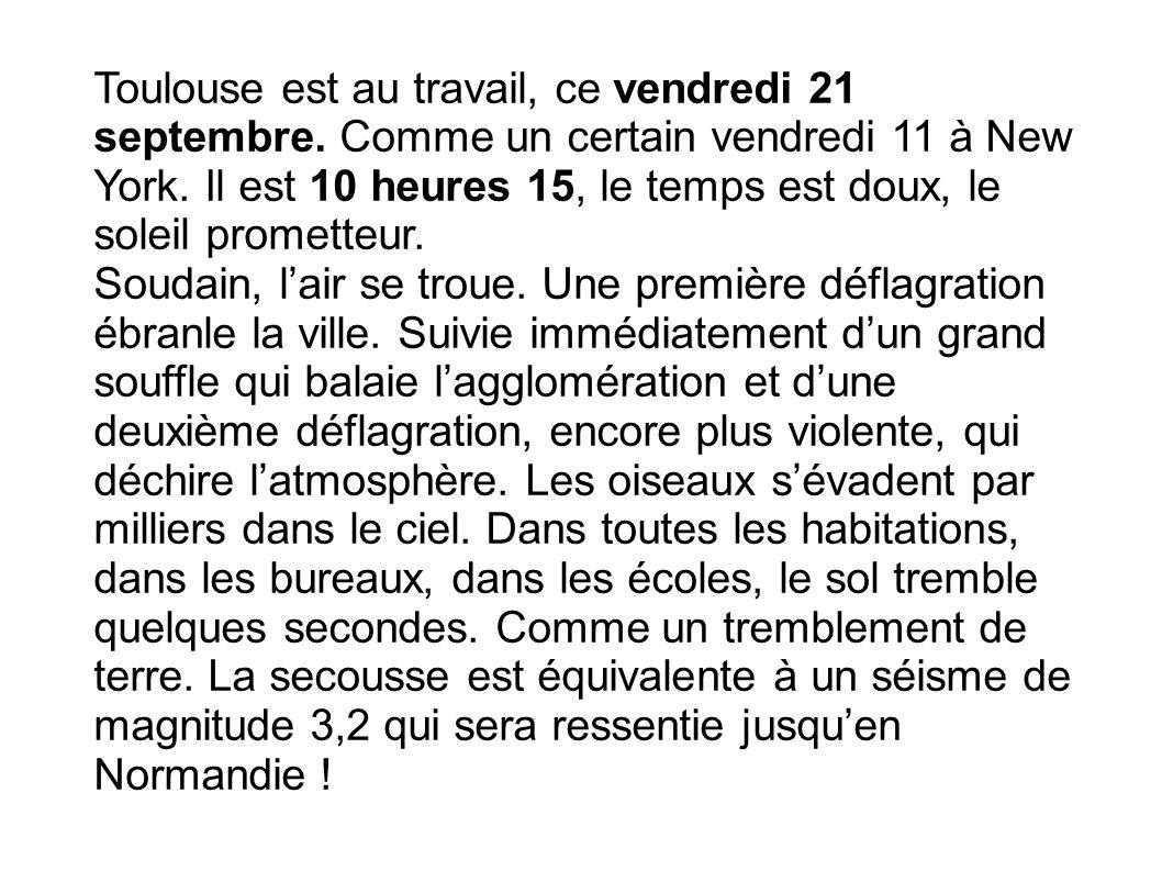 Toulouse est au travail, ce vendredi 21 septembre