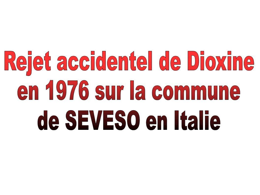 Rejet accidentel de Dioxine