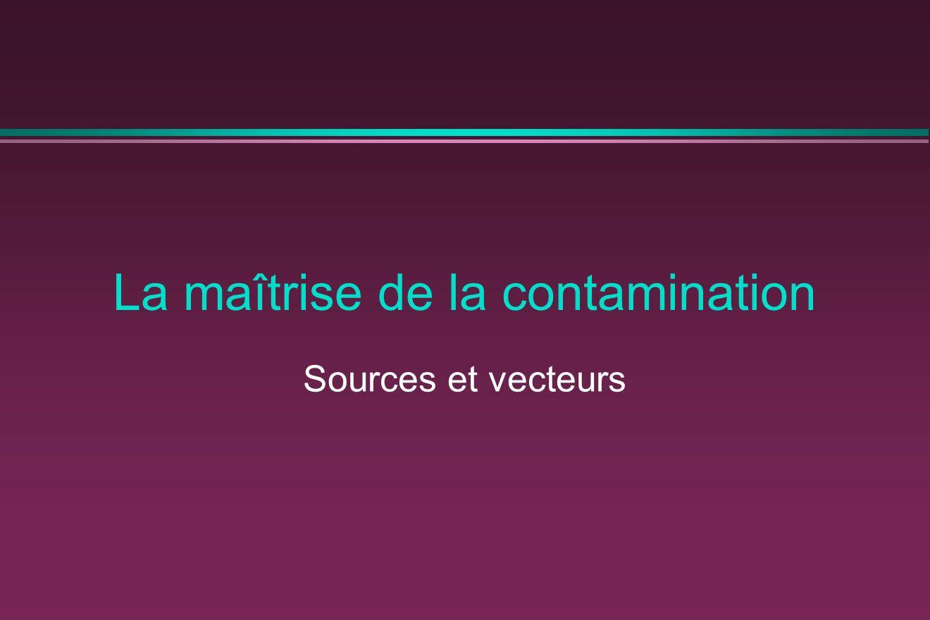 La maîtrise de la contamination