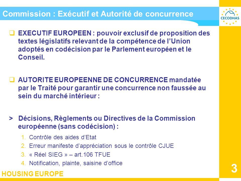 Commission : Exécutif et Autorité de concurrence
