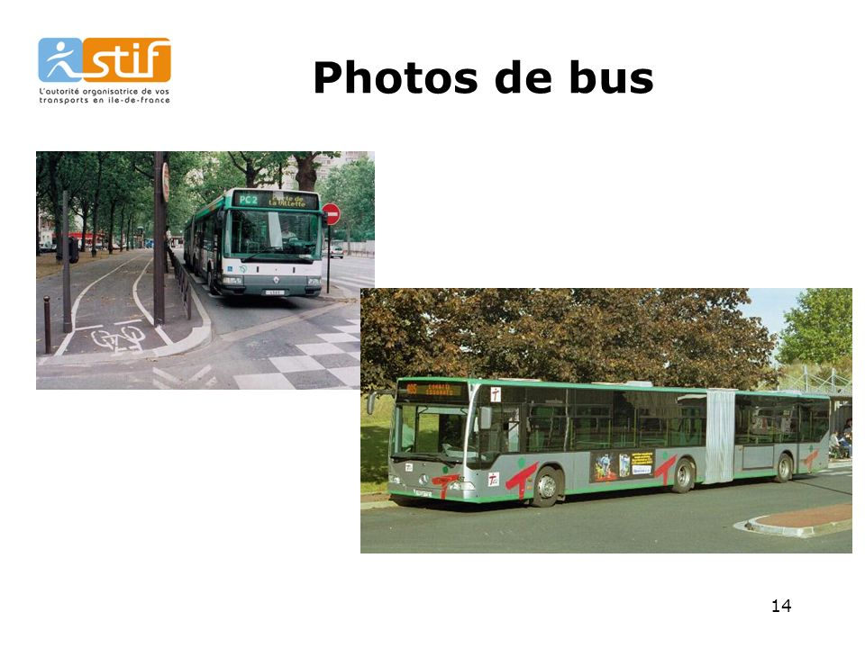 Photos de bus