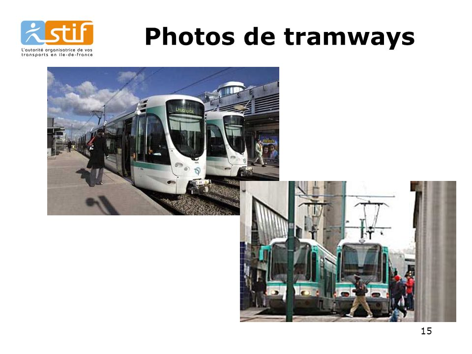 Photos de tramways