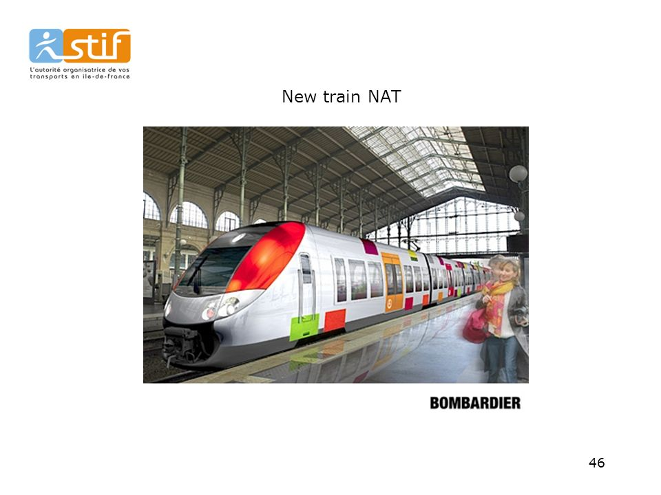 New train NAT 46