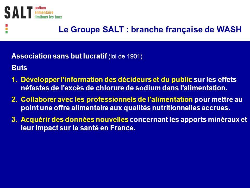 Le Groupe SALT : branche française de WASH