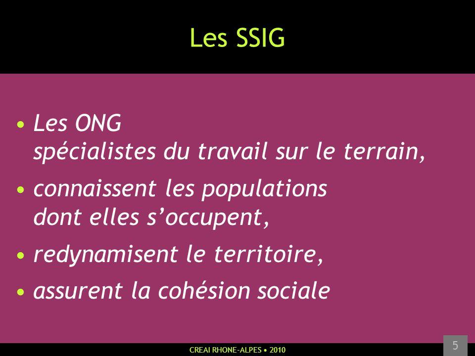 Les SSIG