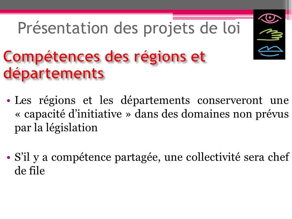 Présentation des projets de loi