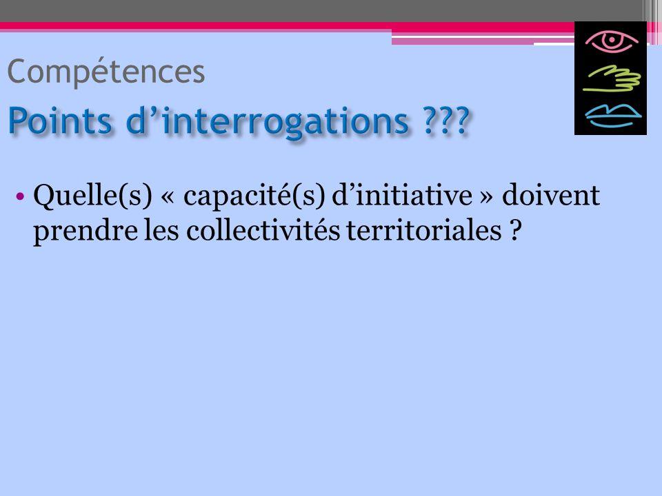 Points d'interrogations