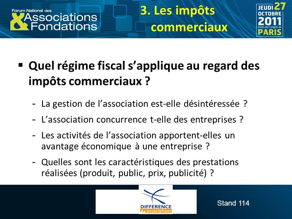 3. Les impôts commerciaux