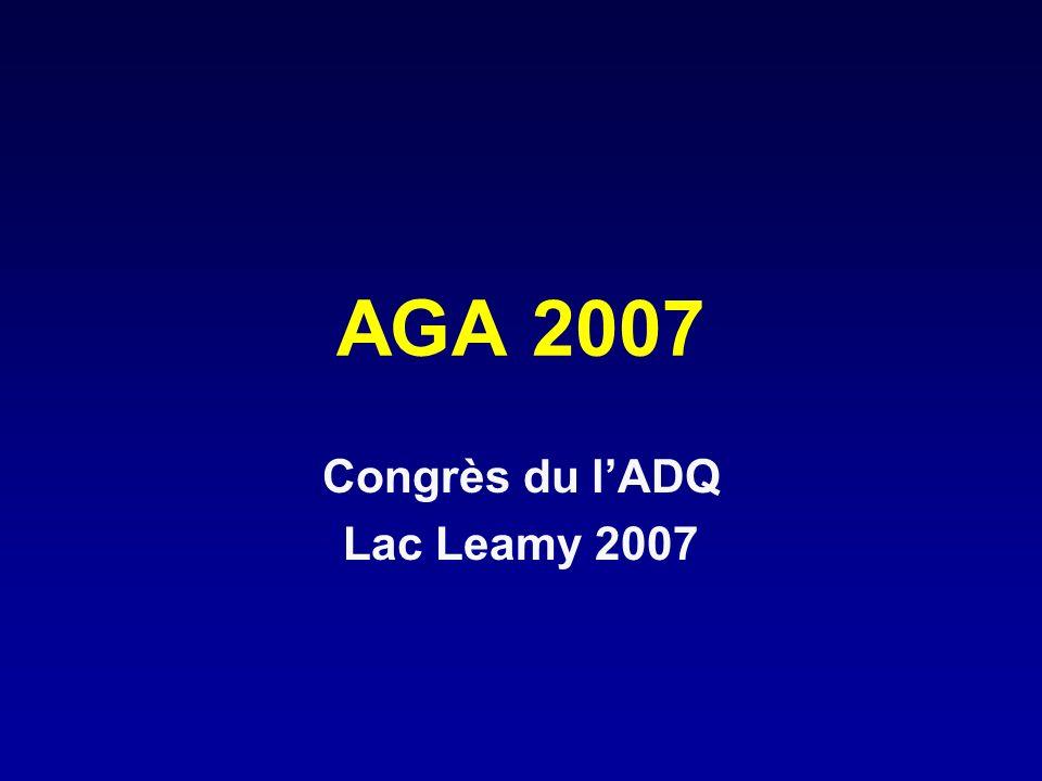 Congrès du l'ADQ Lac Leamy 2007