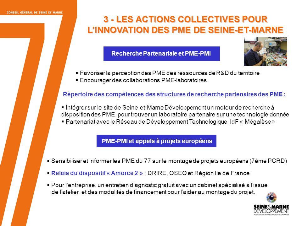 Recherche Partenariale et PME-PMI
