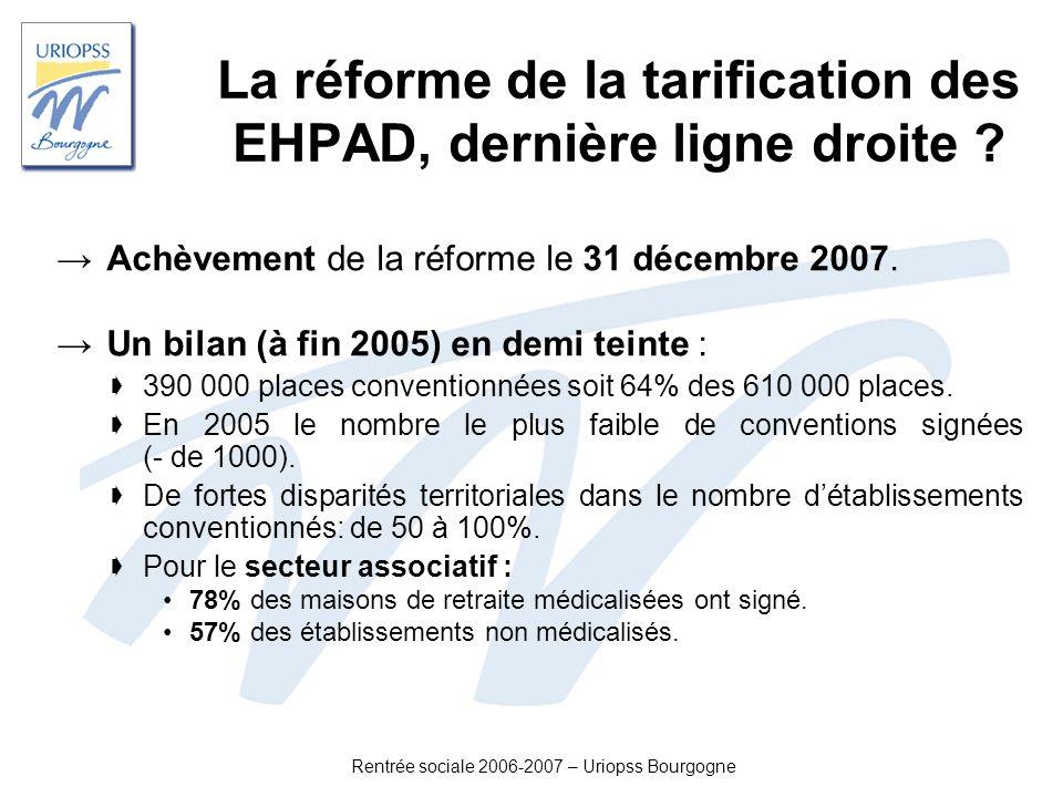 La réforme de la tarification des EHPAD, dernière ligne droite