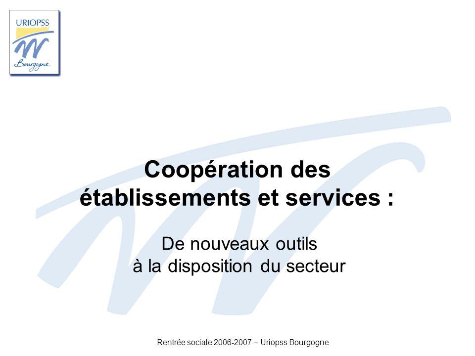 Coopération des établissements et services :