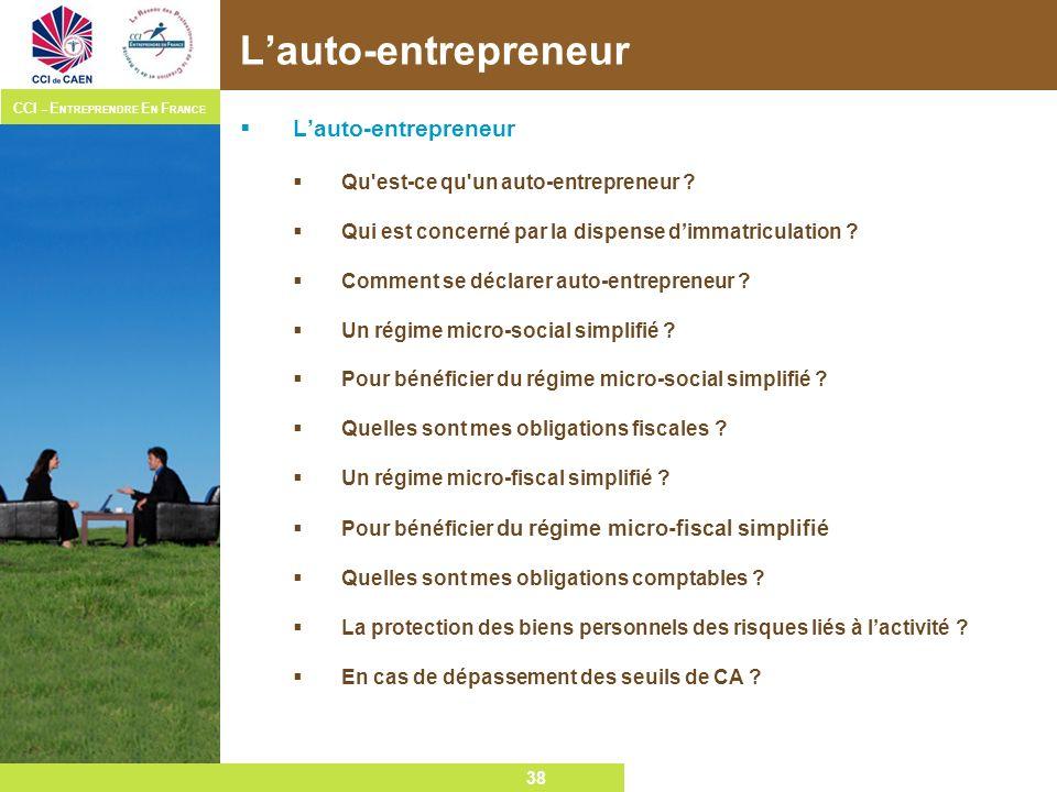 L'auto-entrepreneur L'auto-entrepreneur
