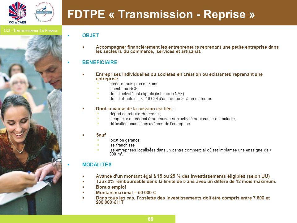 FDTPE « Transmission - Reprise »