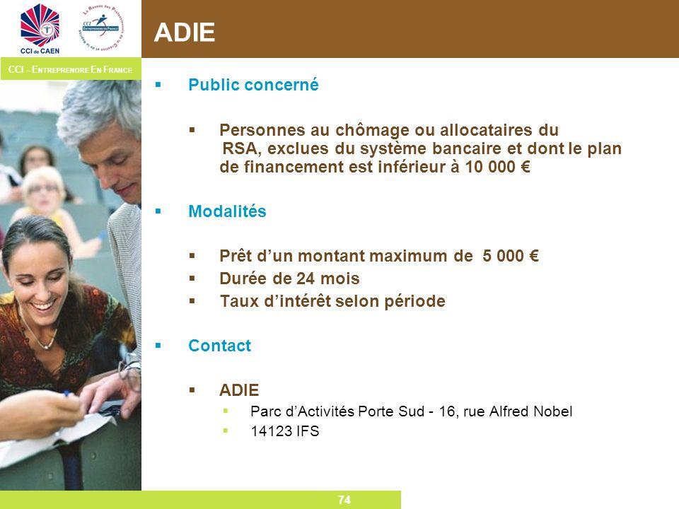 ADIE Public concerné.