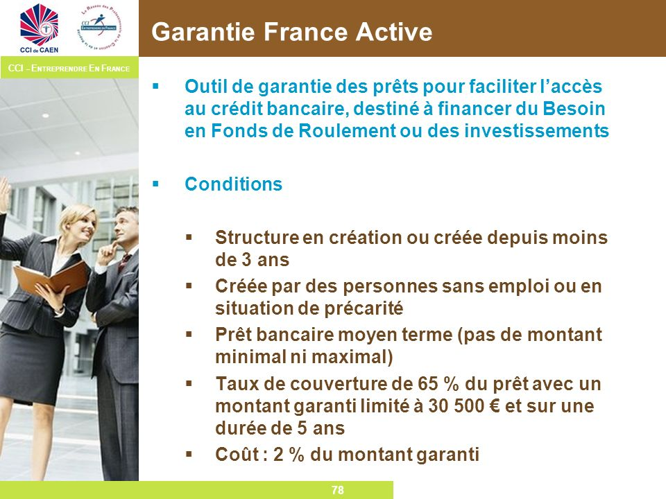 Garantie France Active