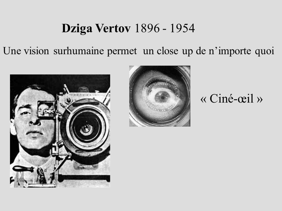 Dziga Vertov 1896 - 1954 « Ciné-œil »