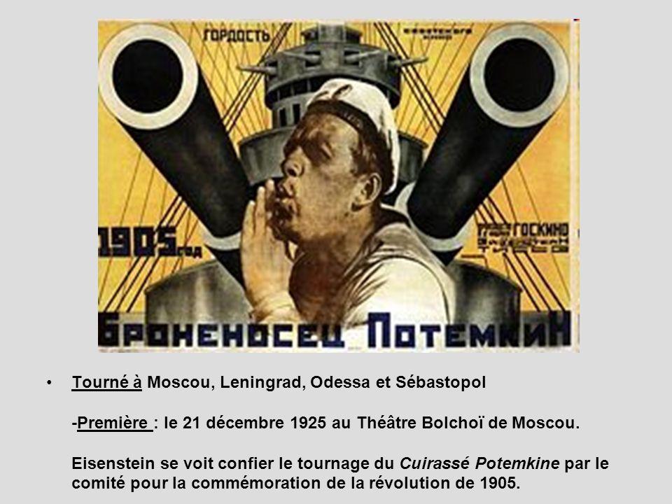 Tourné à Moscou, Leningrad, Odessa et Sébastopol -Première : le 21 décembre 1925 au Théâtre Bolchoï de Moscou.
