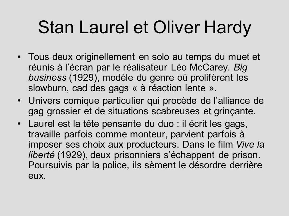 Stan Laurel et Oliver Hardy