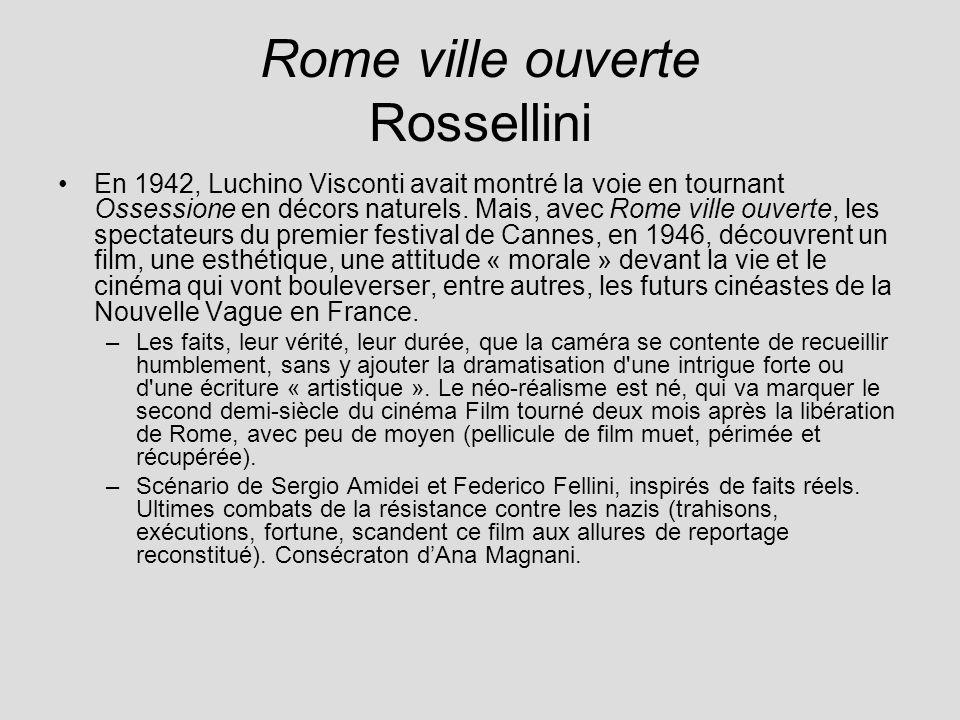 Rome ville ouverte Rossellini