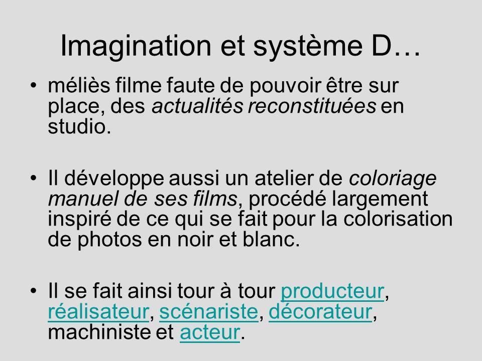 Imagination et système D…