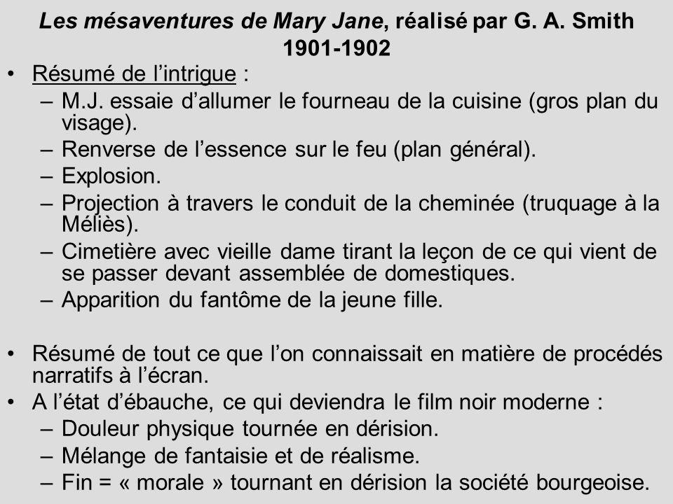 Les mésaventures de Mary Jane, réalisé par G. A. Smith 1901-1902
