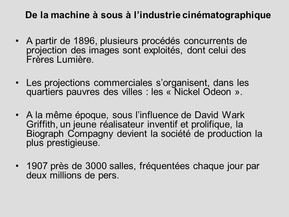 De la machine à sous à l'industrie cinématographique