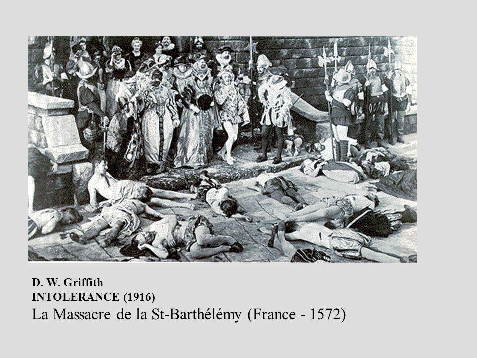 La Massacre de la St-Barthélémy (France - 1572)