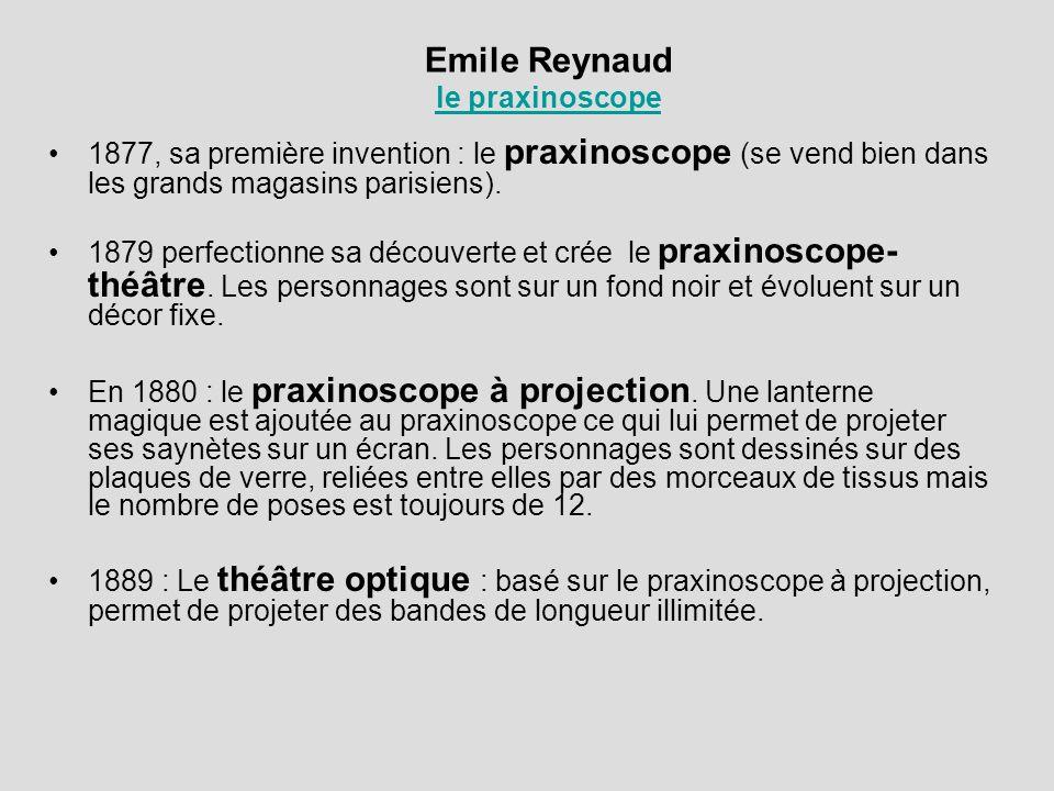 Emile Reynaud le praxinoscope