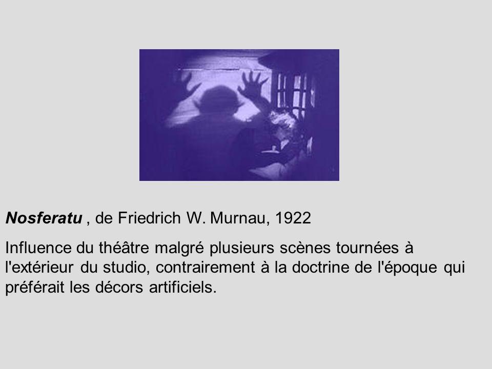 Nosferatu , de Friedrich W. Murnau, 1922