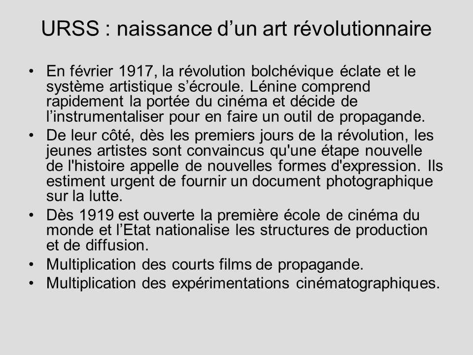 URSS : naissance d'un art révolutionnaire