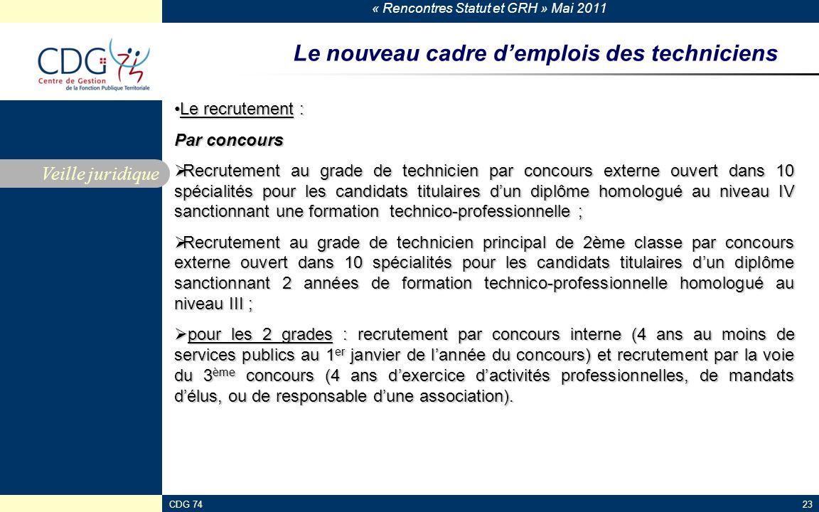 Rencontres statut et grh ppt t l charger - Grille indiciaire technicien principal 2eme classe ...