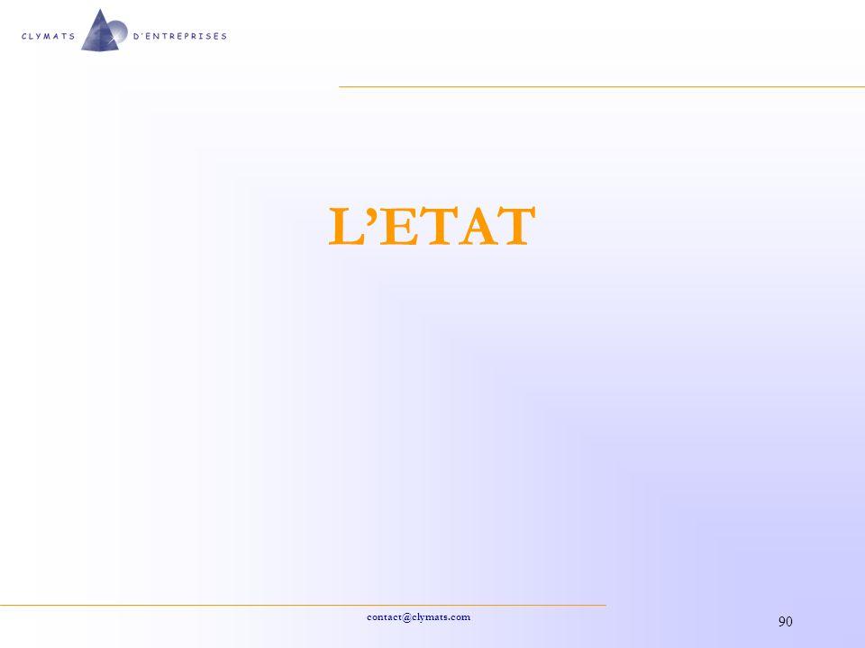 L'ETAT