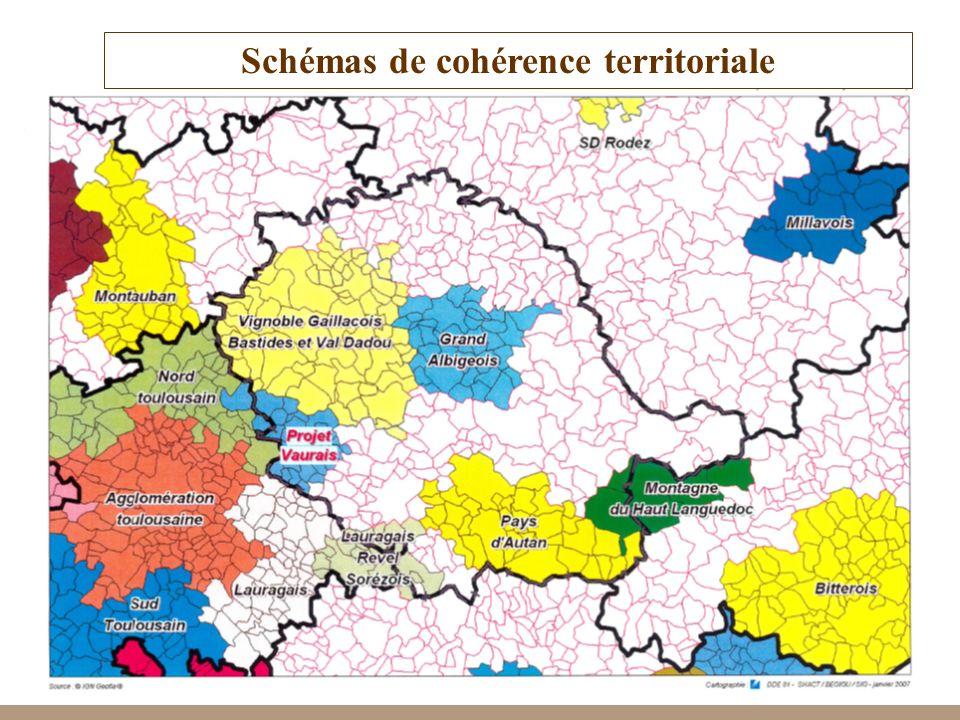 Schémas de cohérence territoriale