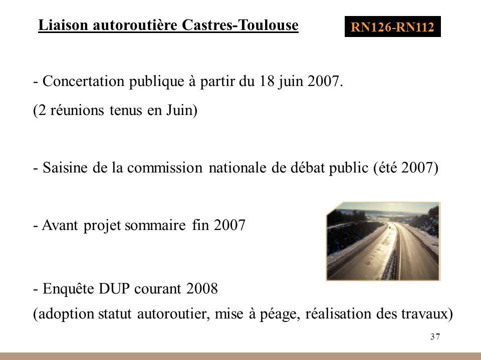 Liaison autoroutière Castres-Toulouse