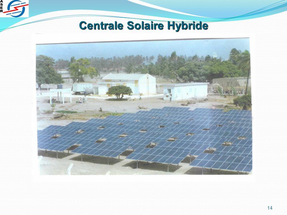 Centrale Solaire Hybride