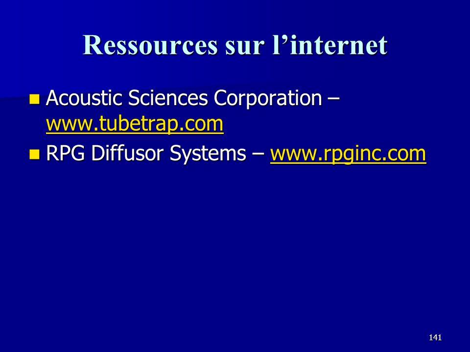 Ressources sur l'internet