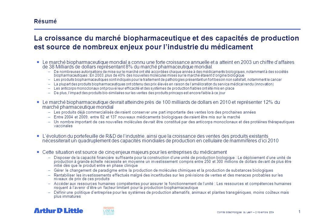 Résumé Le déploiement de ces unités de production pourrait représenter une opportunité économique pour la France à court et moyen terme.