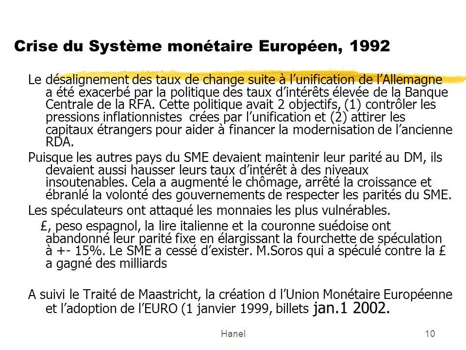 Crise du Système monétaire Européen, 1992