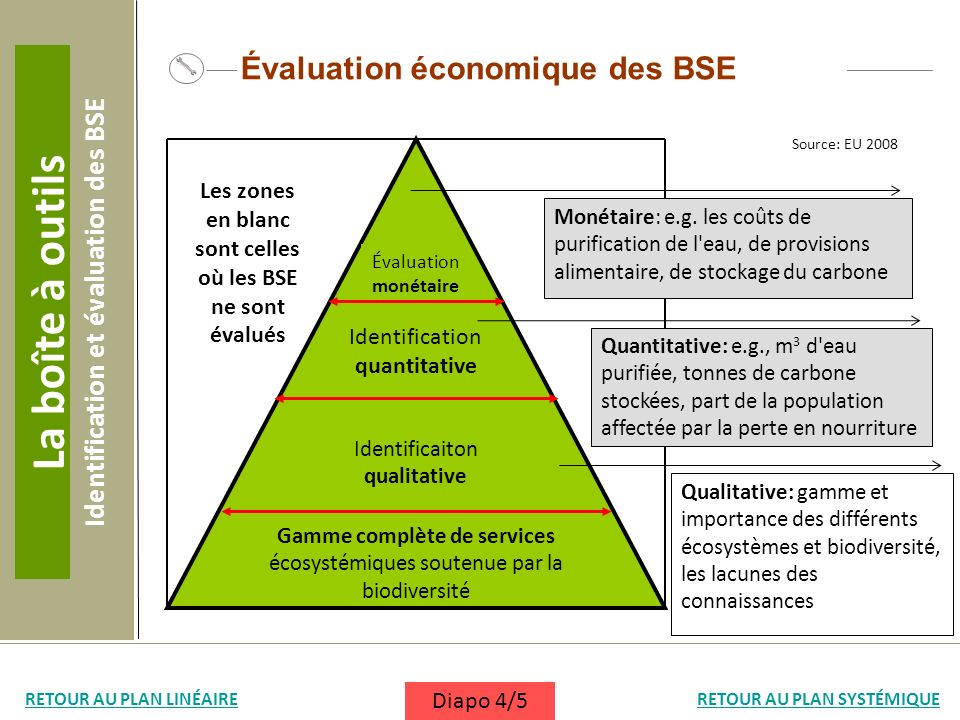 La boîte à outils Évaluation économique des BSE