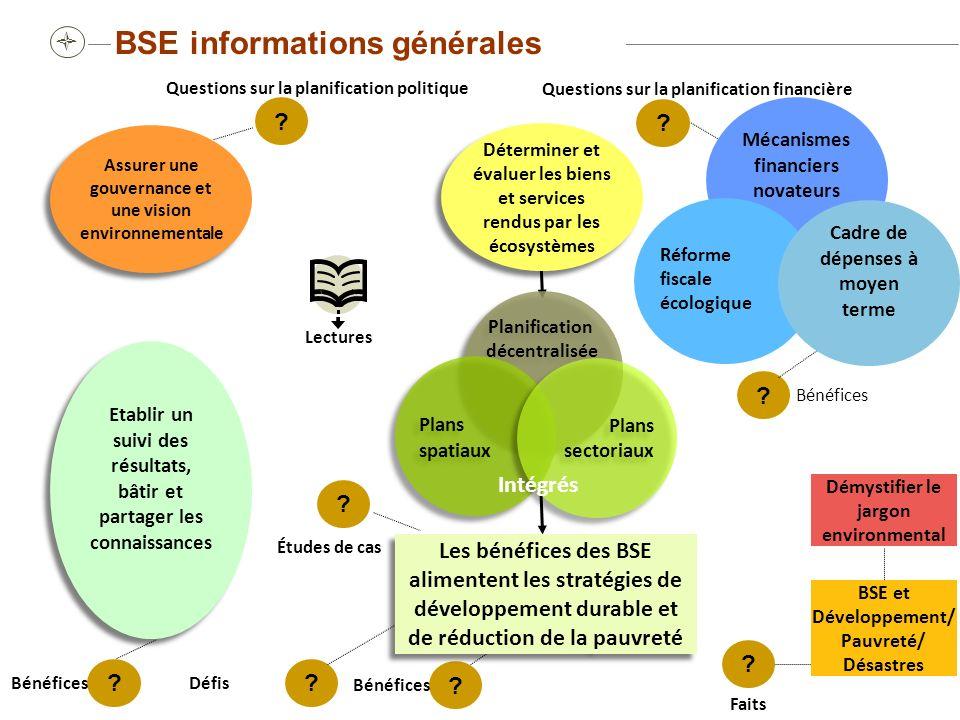 BSE informations générales