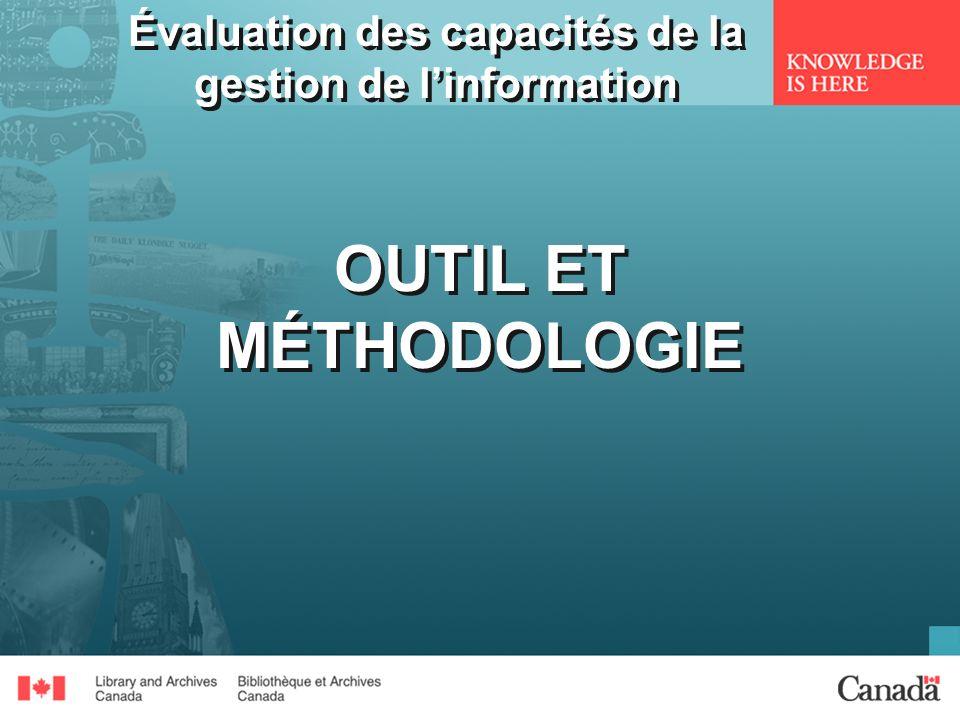 Évaluation des capacités de la gestion de l'information