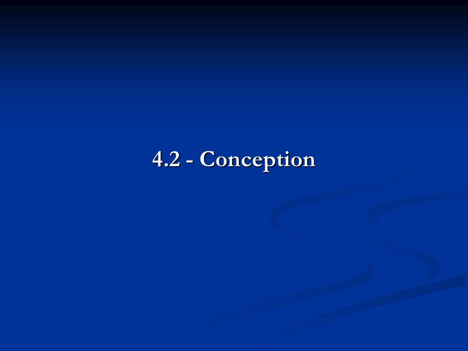 4.2 - Conception